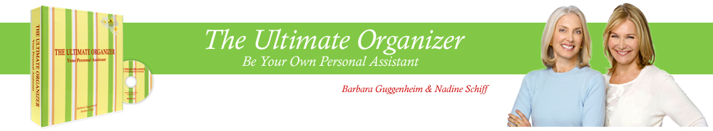Ultimate Organizer by Barbara Guggenheim & Nadine Schiff - Be Your Own Personal Assistant